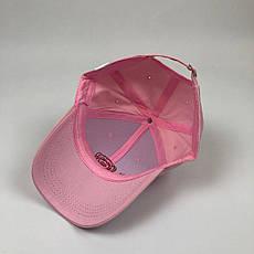 Кепка Бейсболка Мужская Женская City-A Big Rose с Розой Розовая, фото 3