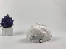 Кепка Бейсболка Мужская Женская City-A Diamond с Бриллиантом Белая, фото 3