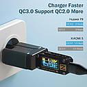 Быстрая зарядка OLAF Qualcomm QC 3.0 18 Вт быстрое зарядное устройство для мобильного телефона, фото 2