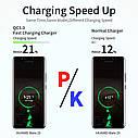 Быстрая зарядка OLAF Qualcomm QC 3.0 18 Вт быстрое зарядное устройство для мобильного телефона, фото 3