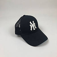 Кепка Бейсболка Тракер з сіткою New York Yankees NY Чорна