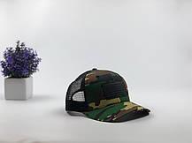 Кепка Бейсболка Тракер с сеткой City-A USA Камуфляжная Хаки, фото 2