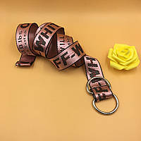 Ремень Пояс Off-White Belt Офф Вайт 150 см Розовый