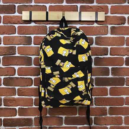 Городской Рюкзак City-A Simpson Bart Симпсон Барт 25 л Черный, фото 2