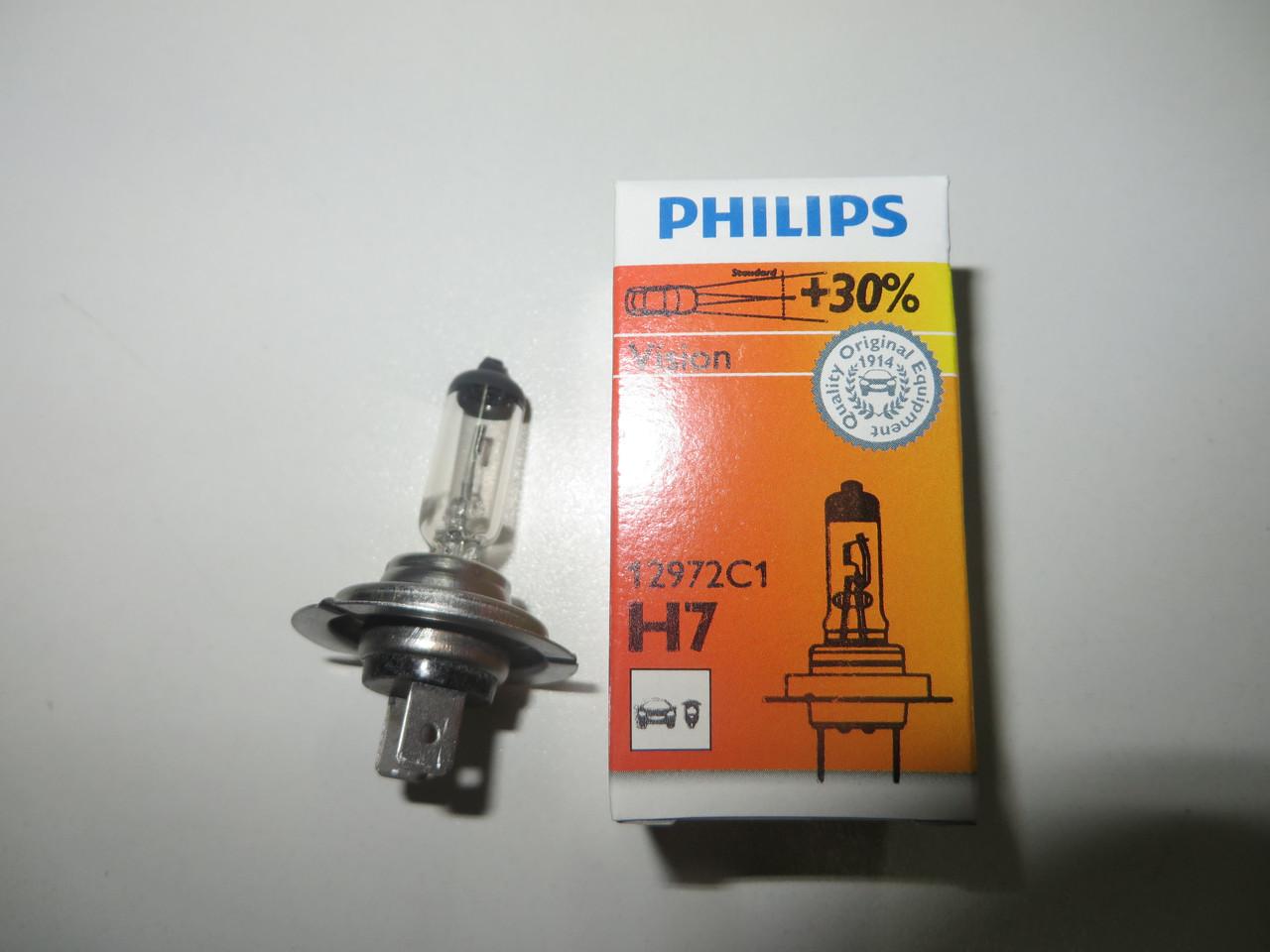 Лампа H7 Premium CP 12V 55W,    производитель PHILIPS , 12972PRC1