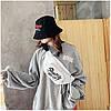 Сумка на пояс Бананка Барыжка City-A Shut Up and Do It PU Кожа Белая, фото 2