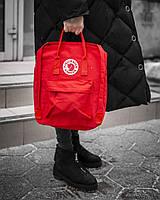 Городской Рюкзак Fjallraven Kanken Classic 16 л Канкен Красный