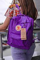 Городской Рюкзак Fjallraven Kanken Classic 16 л Канкен Темно-фиолетовый