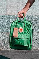 Городской Рюкзак Fjallraven Kanken Classic 16 л Канкен Зеленый