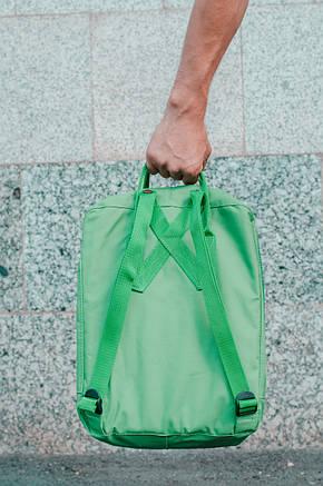 Рюкзак міський Fjallraven Kanken Classic 16 л Зелений, фото 2