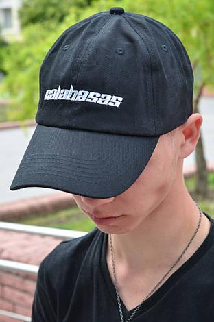 Кепка Бейсболка Мужская Женская Calabasas Черная, фото 2