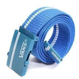Ремень Пояс Vans Belt полоса 100 см Синий