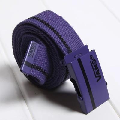 Ремінь на Пояс Vans Belt смуга 100 см Фіолетовий