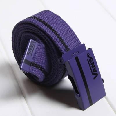 Ремінь на Пояс Vans Belt смуга 100 см Фіолетовий, фото 2