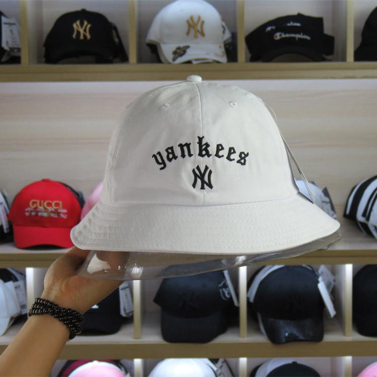 Панама Bucket Hat New York Yankees NY MLB Белая