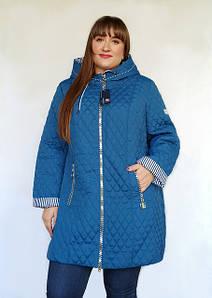 Демисезонная женская верхняя одежда большие размеры от 48 до 82