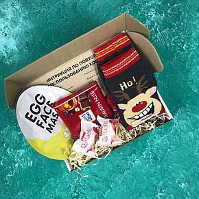 Подарочный Набор City-A Box Бокс для Женщины Мужчины Новый Год из 5 ед №2494, фото 2