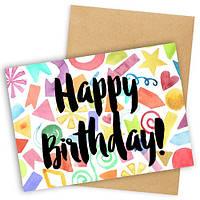 Открытка с конвертом City-A Happy Birthday с Днем Рождения