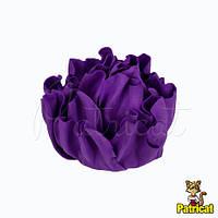Цветы Пионы Фиолетовые из фоамирана (латекса) 9 см 1 шт