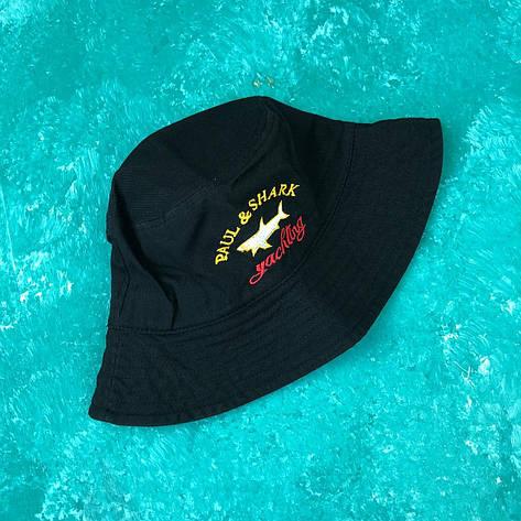 Панама Bucket Hat Paul Shark Черная, фото 2