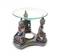 """Аромалампа """"Будда"""", со стеклянной чашей"""