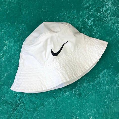 Панама Bucket Hat Nike Белая, фото 2