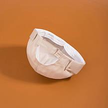 Байкерская Кепка Docker Без козырька Докер Бескозырка City-A Без логотипа Бежевая, фото 2