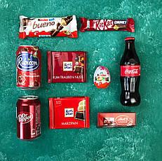 Подарочный Набор City-A Box Бокс для Женщины Мужчины Сладкий Sweet Box из 9 ед №2861, фото 2