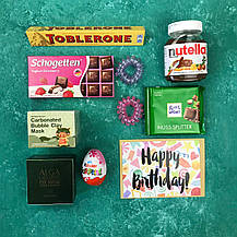 Подарочный Набор City-A Box Бокс для Женщины Сладкий Sweet Бьюти Beauty Box из 10 ед №2882, фото 3