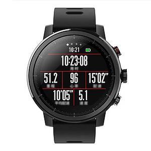 Умные часы Xiaomi Huami Amazfit Stratos 2 Black smartwatch Global Version Глобальная версия A1619