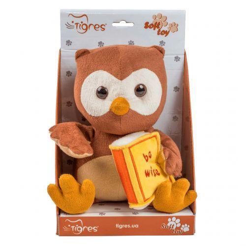 """Мягкая игрушка """"Сова с книгой"""" ІГ-0071"""