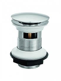 Донний клапан Invena, латунний, click-clack, грибоподібний, великий, SC-B1-028