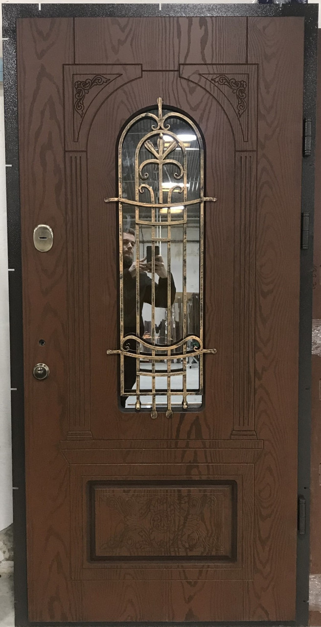 """Двері вхідні полімерні """"Classic"""" склопакет 20-64"""