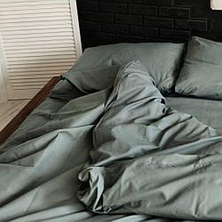 Однотонное постельное бельё из Сатина Голд (100% хлопок) полуторный размер