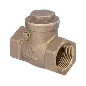 """Клапан зворотний, типу захлопка,  1 1/2"""",  INVENA, ZZ-15-040"""