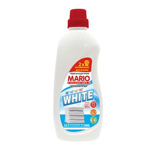 Рідкий засіб для прання Mario 1000 мл Для білого  (4823317535333)