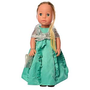 Детская интерактивная кукла M 5414-15-1 обучает странам и цифрам (Turquoise)