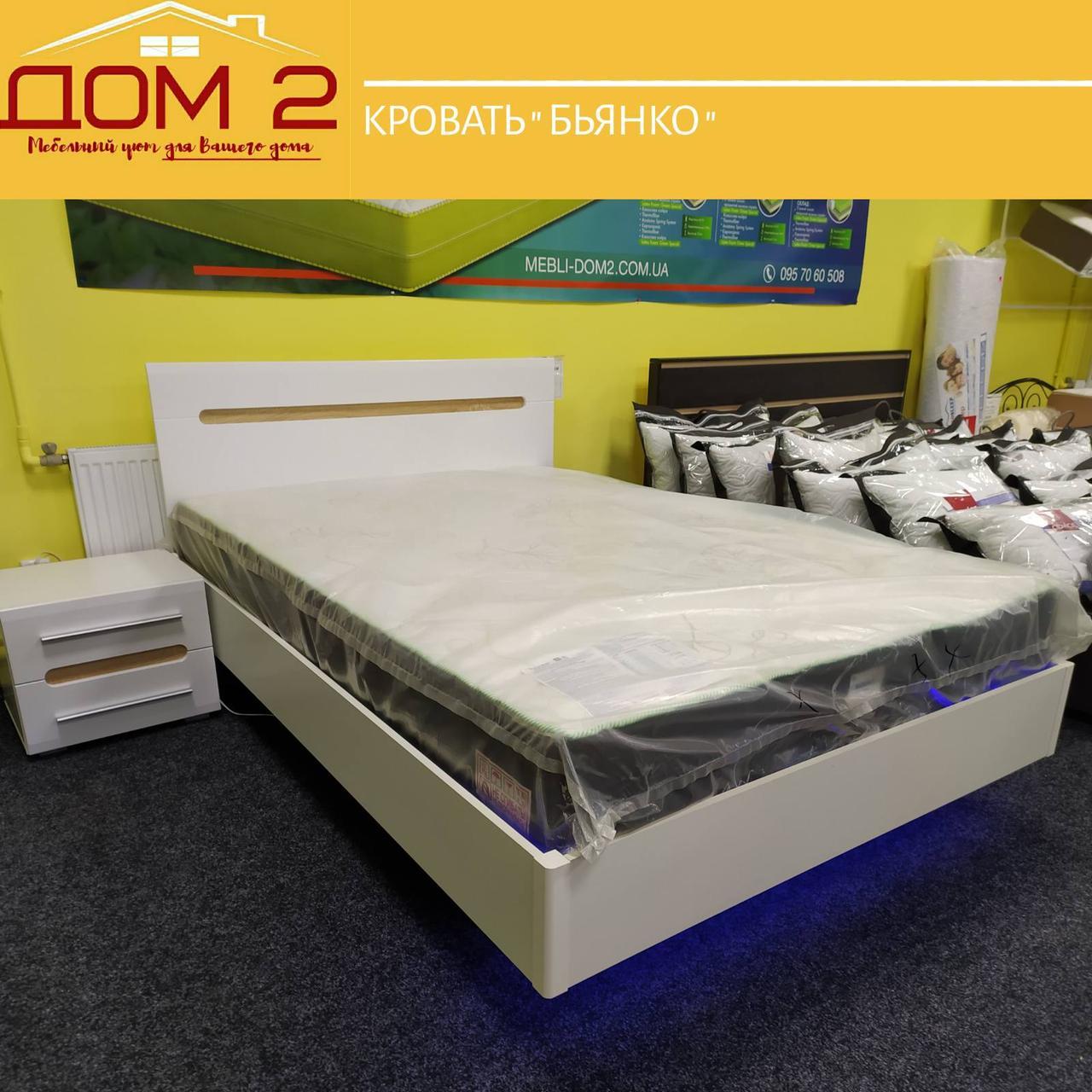 Кровать Бьянка с неоновой подсветкой