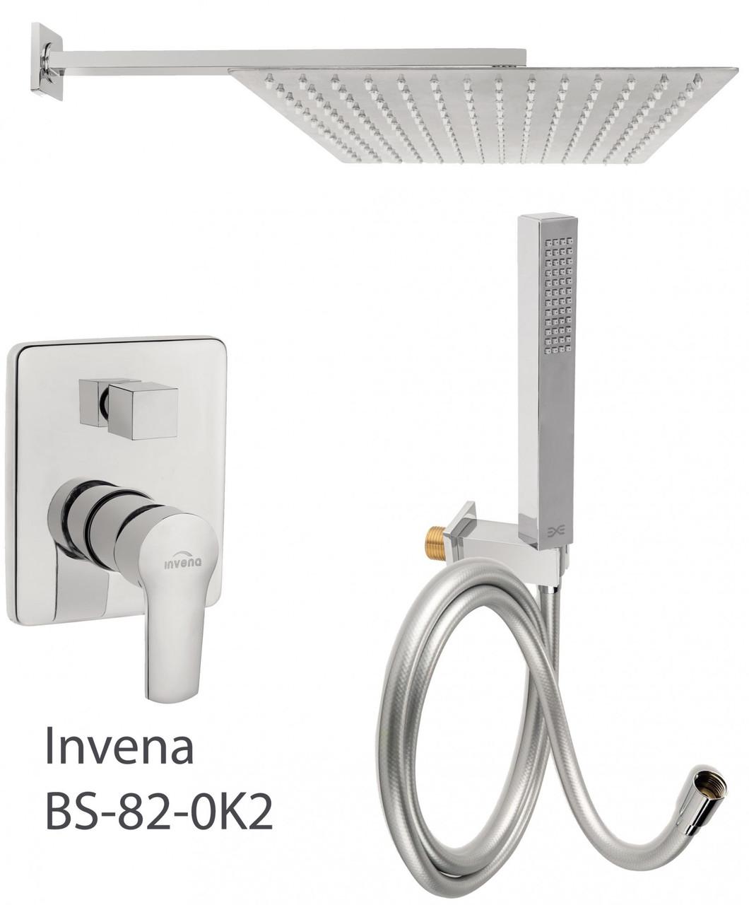 Душова система прихованого монтажу Invena BS-82-0K2