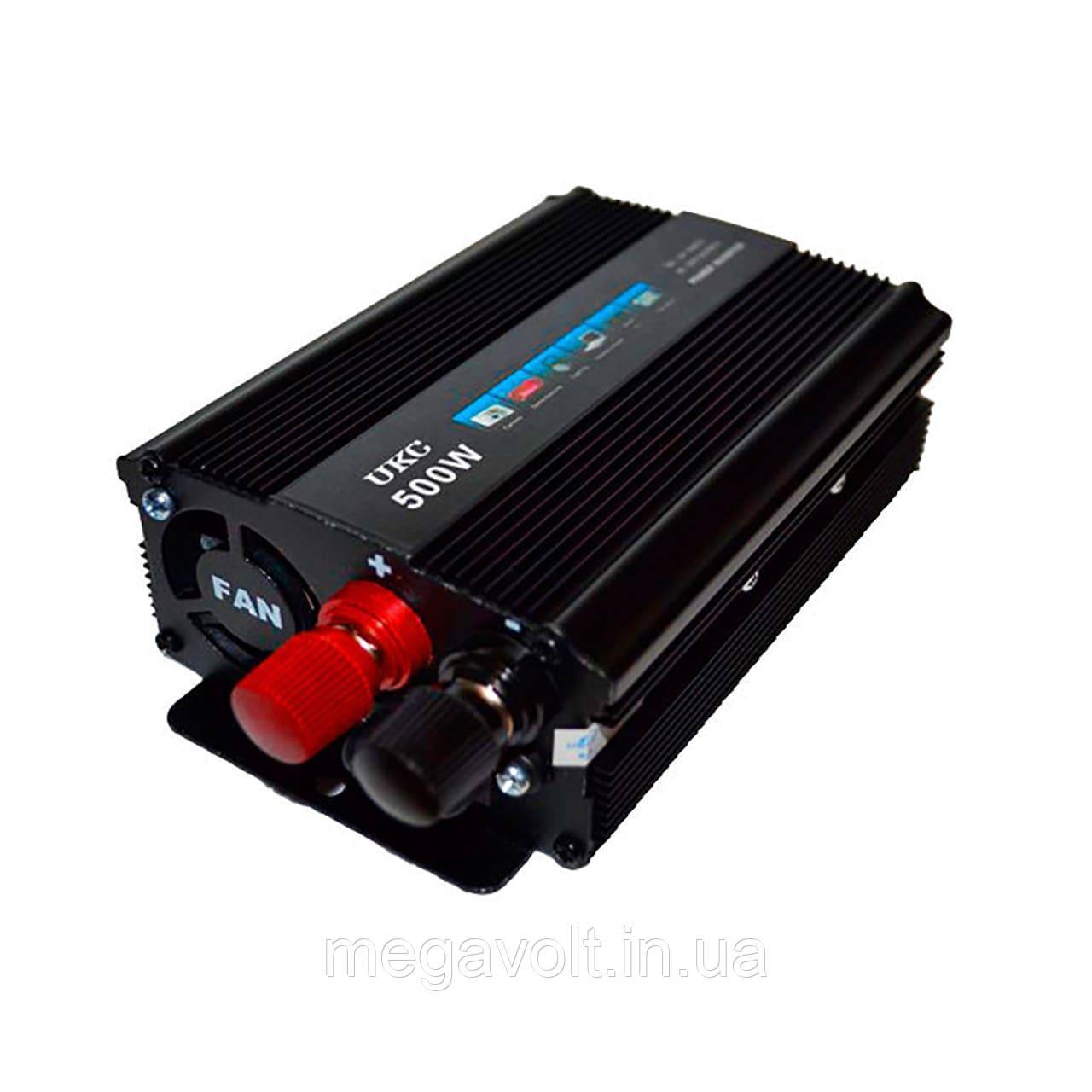 Преобразователь напряжения. Инвертор 12v-220v 500W UKC