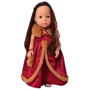 Интерактивная кукла в платье M 5414-15-2 с изучением стран и цифр (Red)