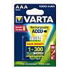 Аккумулятор VARTA RECHARGEABLE ACCU AAA 1000mAh BLI 2 NI-MH (READY 2 USE), 05703301402