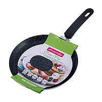 Сковорода блинная Kamille с мраморным покрытием для индукции и газа 24 см, фото 1