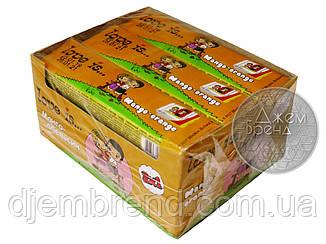 Жевательные конфеты Love Is - новые вкладыши, манго-апельсин