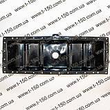 Бак (бачок) радиатора ЮМЗ c двигателем Д-65, верхний (сталь) (36-1301050-01), фото 2