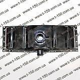 Бак (бачок) радиатора ЮМЗ c двигателем Д-65, верхний (сталь) (36-1301050-01), фото 3