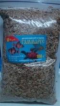 Гаммарус корм для рыб, 100 г эконом пакет
