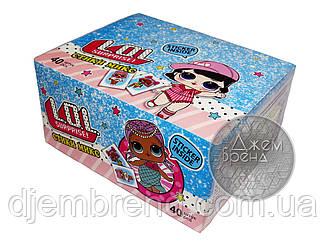 Жевательные конфеты LOL стики микс , 7 гр х 40 шт