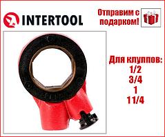 """Рукоятка трещотка вороток для клуппа  1/2""""-1 1/4""""  """"Intertool"""" SD-8016"""