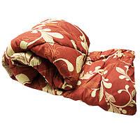 Одеяло Lotus flower холлофайбер 145/210 коричневый вензель